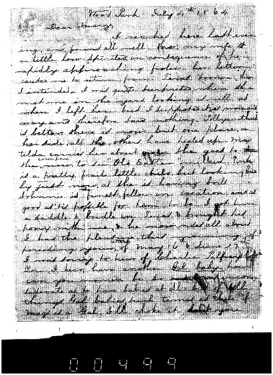 CC Weeks to Mary Weeks, July 4, 1864, Weeks Family Papers, Reel 18, Frames 499-501.pdf
