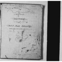 Register of Visitors at Petit Anse Island during the Civil War