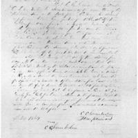 Rental Agreement between John Williams and C. C. Chamberlain