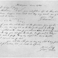 J. B. Miller to Richard L. Pugh, December 12, 1864