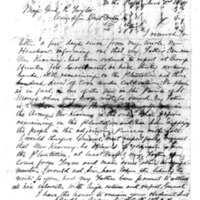 Letter from Dudley Avery to General Taylor, June 2, 1864